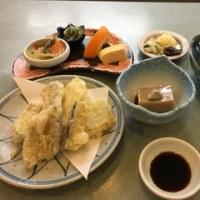 和食屋さんでひとりランチ。