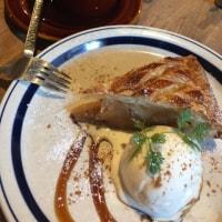 金町 カフェ・ハクタの幸せアップルパイ
