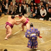 平成29年 大相撲夏場所 十三日目 両国国技館観戦