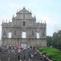 聖ポール天主堂跡とマテオ・リッチ