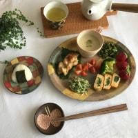 【生存報告】&【金井ゆみ】さんの器を使った食卓