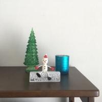 クリスマス飾りとわんこ…