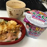 今日のお昼ご飯  小さな天丼