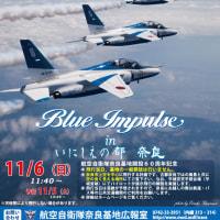 奈良基地開設60周年記念行事ブルーインパルス展示飛行にKAZARI隊.COMが出店致します