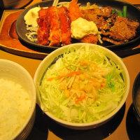 「カルビミックス定食」1,024kcal