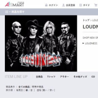 LOUDNESS~ON-LINE SHOP OPEN!!