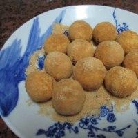 豆腐きな粉ドーナッツ