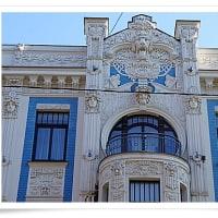 バルト3国15 ラトビア・リガ1ユーゲントシュティール建築