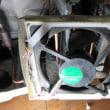 日立冷蔵庫R-S42BM点滅13回FAN故障で交換修理です。