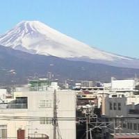 実家近くの富士山