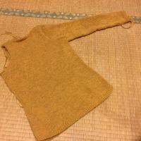 Grand Large 右袖編みあがりました