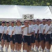 運動会。(中学校)