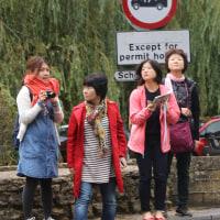 バイブリーの観光客達その21     投稿者:佐渡の翼