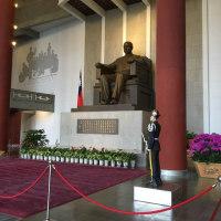 台北 国父記念館の衛兵交代式
