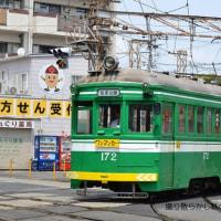 阪堺電軌 住吉(2013.5.4) 平面交差のモ172