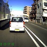 立川市にて『電車を運ぶトラック』