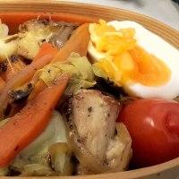 鶏の野菜炒め弁当