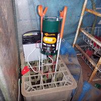 イノシシ用電気柵