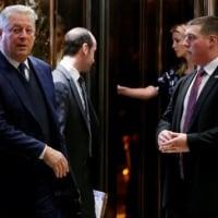 トランプ次期米大統領、ゴア元副大統領と会談 気候変動政策を協議・・・CO2問題はでっち上げ