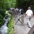軽井沢は暑かった