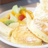 新宿「honacafe」、ほあっほあなパンケーキ