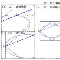 モデル空間ビューポート