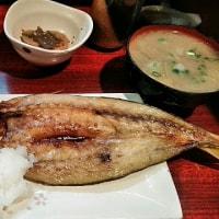 最近ハマっている虎ノ門もお魚定食のお店