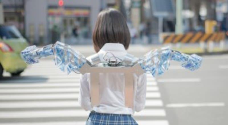 ウェアラブルロボット新作「METCALF clione(メカフクリオネ)」が発表