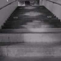 不思議駅の階段