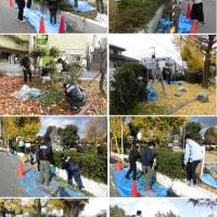大和田北公園環境整備作業実施③