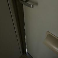 【玄関ドア】メゾンハーモニー玄関ドアの隙間改善