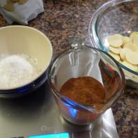 手作り低糖質チョコ&桜、桜(遅い)~♪