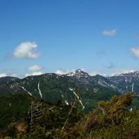 白山開山1300年記念・三方岩岳(1.736m)