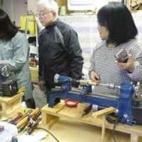 第37回技術交流会 DIY彩女合同 旋盤ペン作り