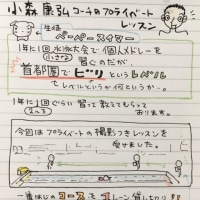 小森康弘コーチのプライベートレッスン