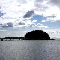 今日の竹島は晴れ