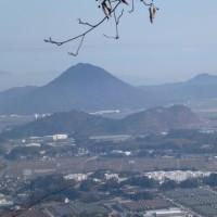 鶏冠山~竜王山                                  2017.3.4