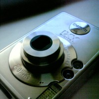 集合写真のためのデジカメ