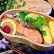 息子塾弁当❤︎鮭弁