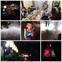 原始村体験とお祭り