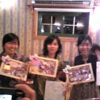 インドネシア3人娘さんお別れパーティー