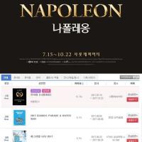 '나폴레옹(ナポレオン)'、強力な興行作予告..前売りサイト1位