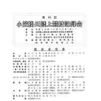 第49回 小笠掛川陸上競技記録会タイムテーブル