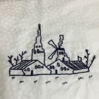 刺繍しました!