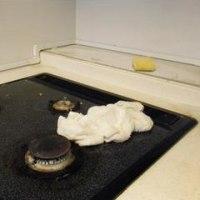 キッチンの丁寧掃除