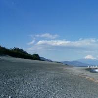 三保の松原から富士山を📷