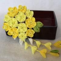 つまみ細工  菜の花