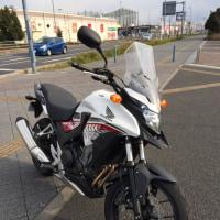 カワサキninja400R、ホンダ400X試乗