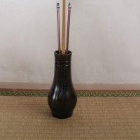 菖蒲紋杓立