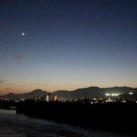 散策の夕暮